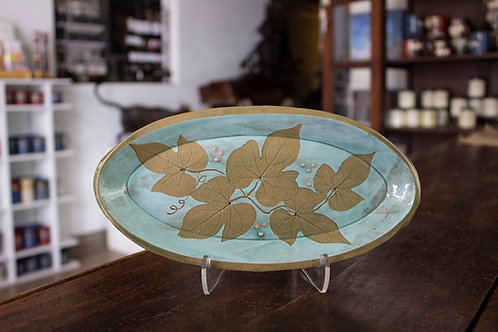 Small Oval Tray-Doris Blum
