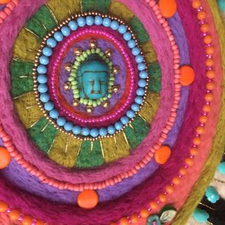 """""""Buddha Mandala"""" by Sarah Miller"""