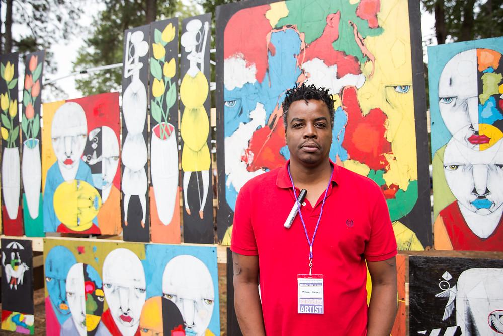 Michael Banks, Outsider Artist, Kentuck Festival of the Arts, Alabama