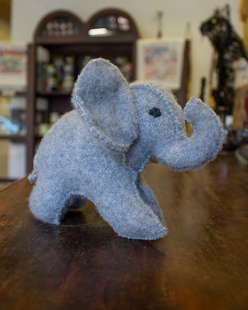 Grey Elephant - Caren Matukas