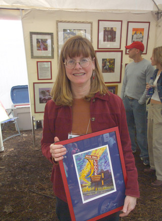 Kathy Fetters at the Kentuck Festival