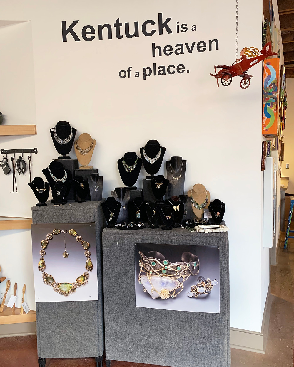 Megan Austin Kentuck Gallery Shop Display