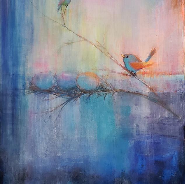 """""""Spring Song"""" by Lisa Opielinski"""