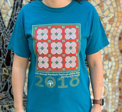 2018 Festival Quilt T-Shirt