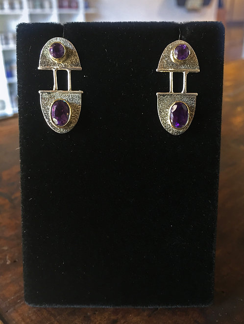 Amethyst Earrings - Megan Austin