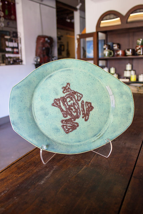 Frog Plate - Fred Mitchell