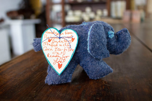 Tiny Stuffed Elephants-Caren Matukas