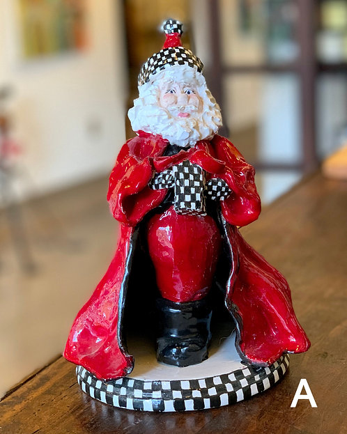 Ceramic Classic Santas-Kathy McPhearson