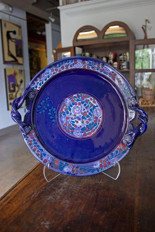 Blue Serving Platter-Jill Tortorella