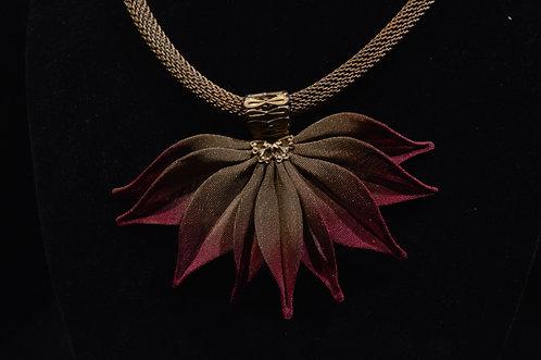 Gathered Leaves Necklace-Sarah Cavender