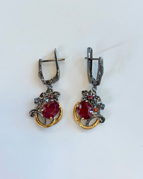 Ruby Earrings - Megan Austin