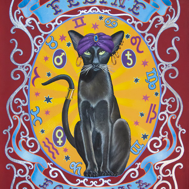 """""""Feline Fortuna"""" by Molly McGuire"""