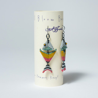 """Fish Earrings"" by Sue Hammes-Knopf"