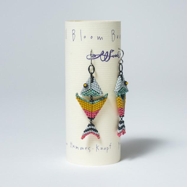 """Fish Earrings"" by Sue Hammes-Knopf"