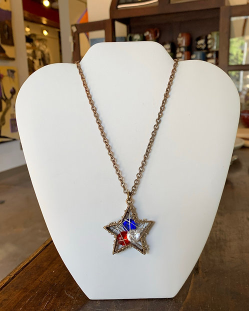 Star Pendant Necklace-Ricky Boscarino