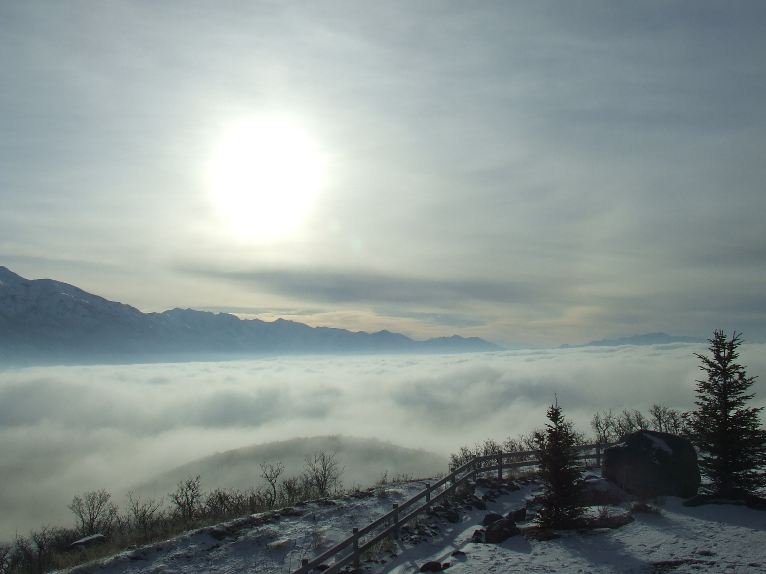 Foggy Winter - Utah Valley
