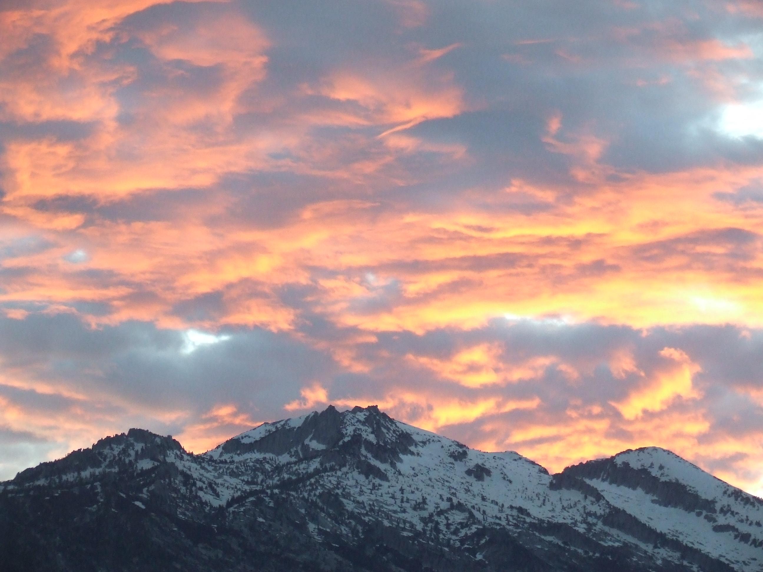 Lone Peak Sunrise