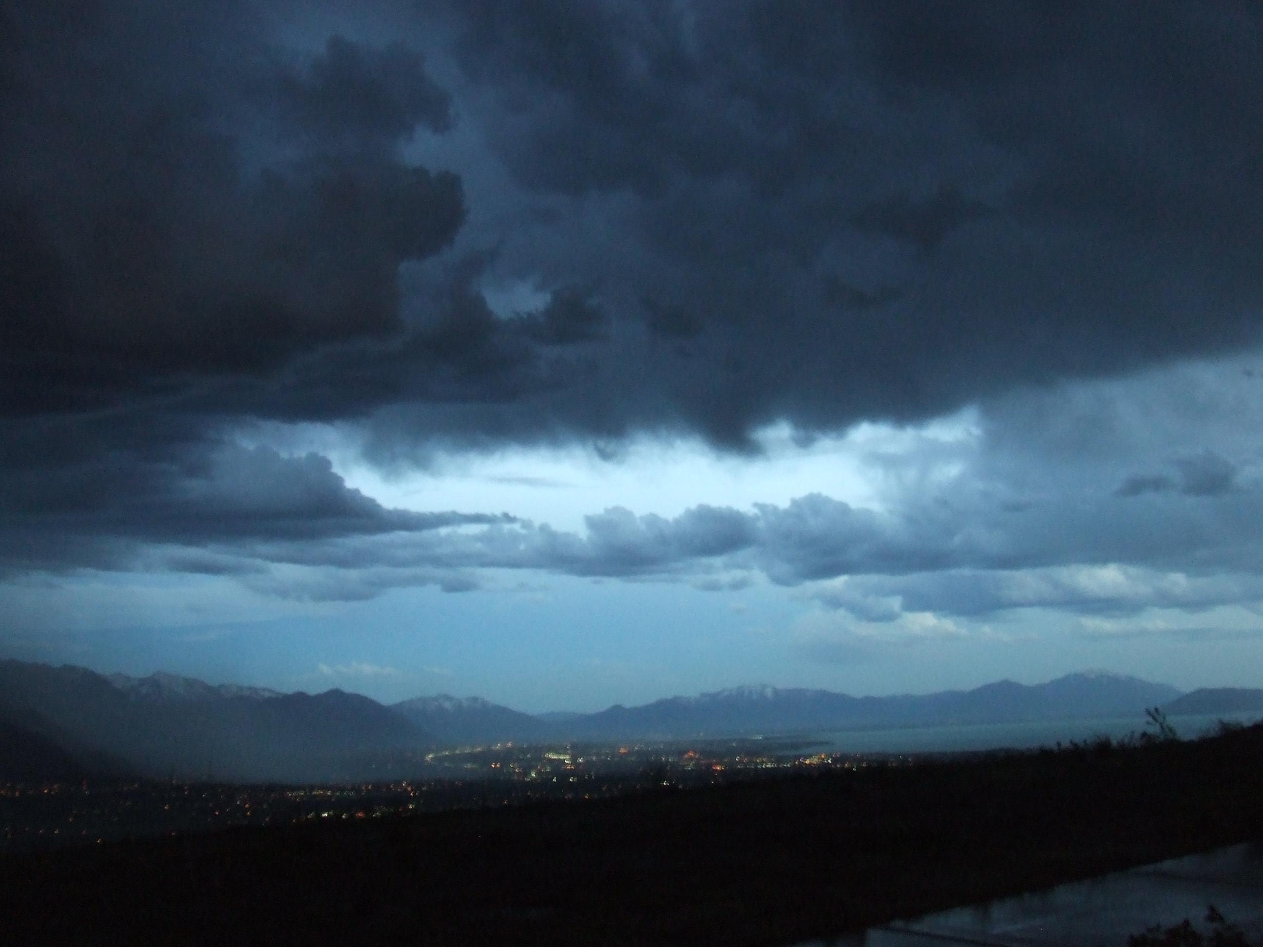 Utah Valley Clouds