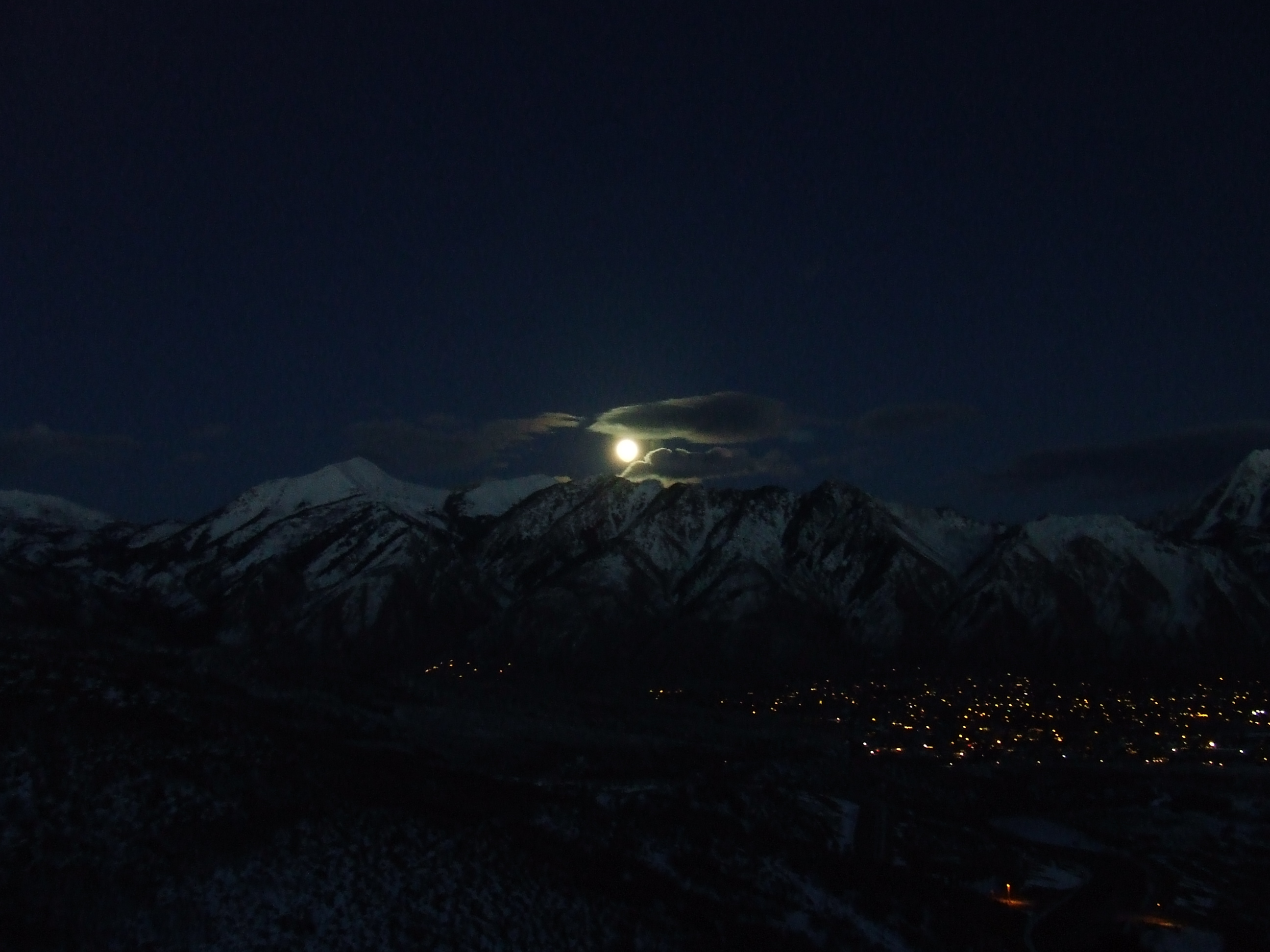 Alpine Moonrise