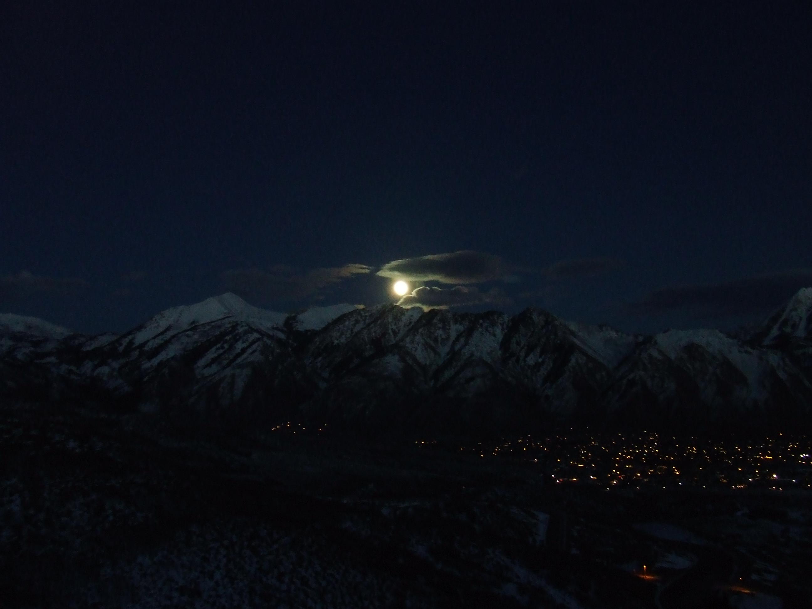 Alpine Moonrise