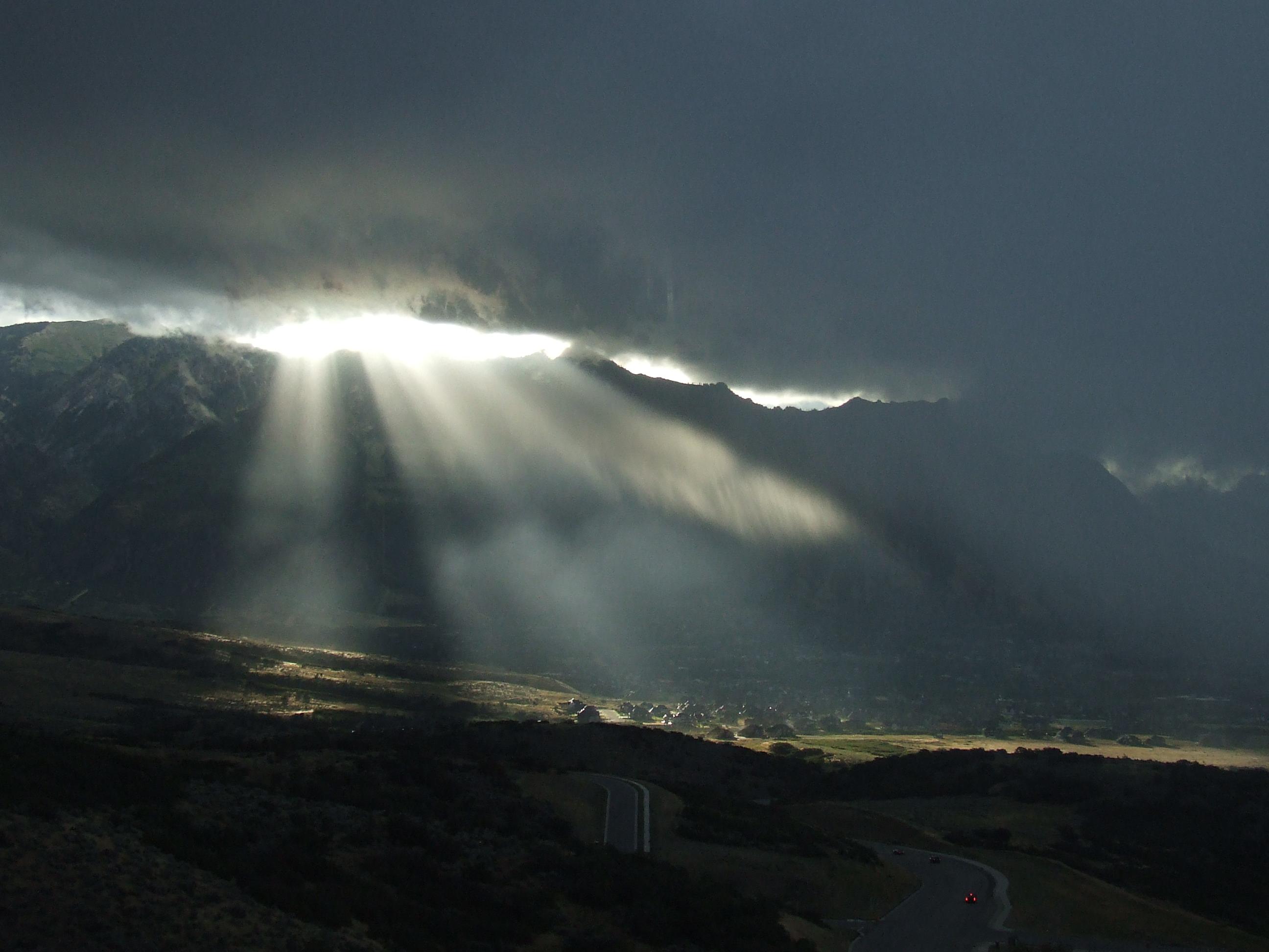 Alpine Sunrays