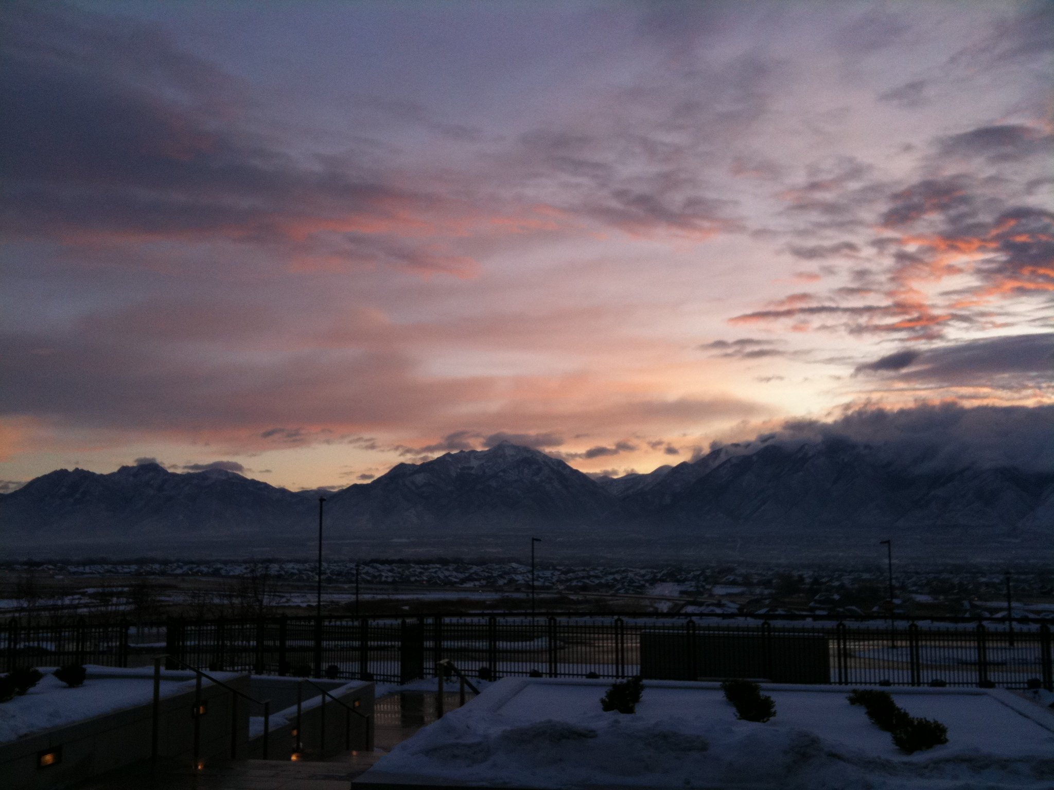 Wasatch Sunrise