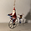 Thumbnail: Father Christmas on his penny-farthing