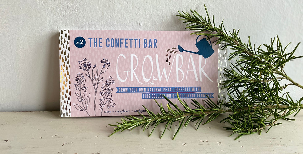 The Confetti Grow Bar