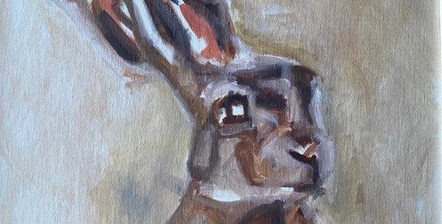 "Original Gayle Shapton ""Hare"""