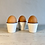 Thumbnail: Farmhouse White Egg Cups