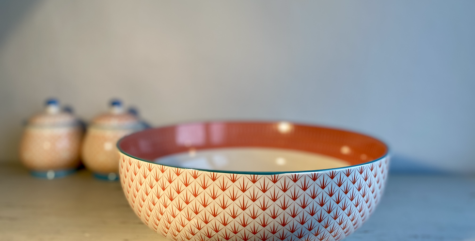 Geometric Fruit/Salad Bowl