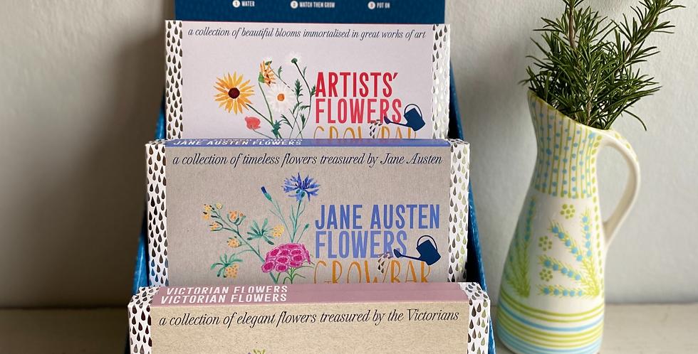 Jane Austen Flowers Growbar