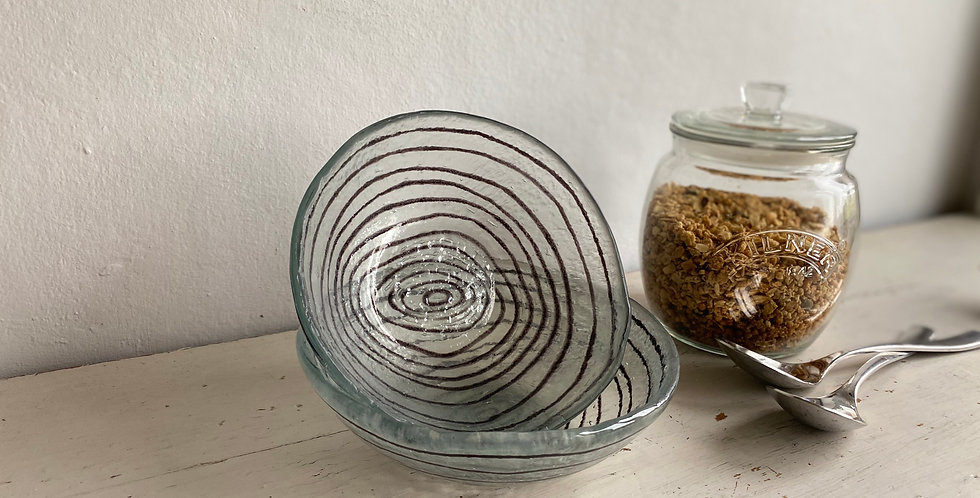 Micro Concentric Glass Bowl