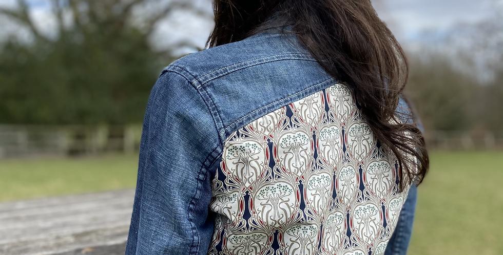 Customised Vintage Firetrap denim jacket