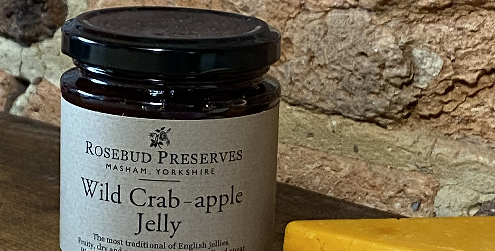 Wild crab-apple jelly