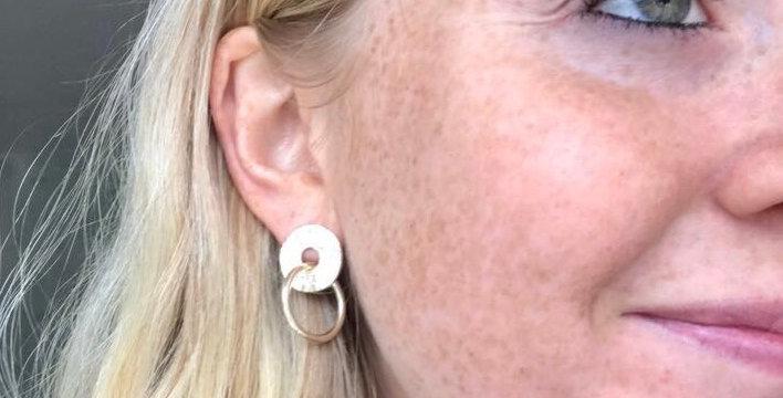 Tutti & Co Infinity earrings gold