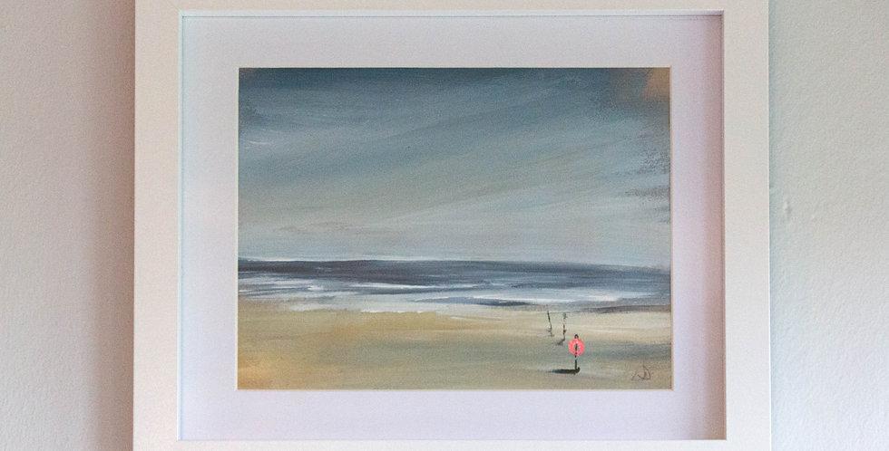 """""""Seaside Escape"""" Original by Lindsay Denning"""