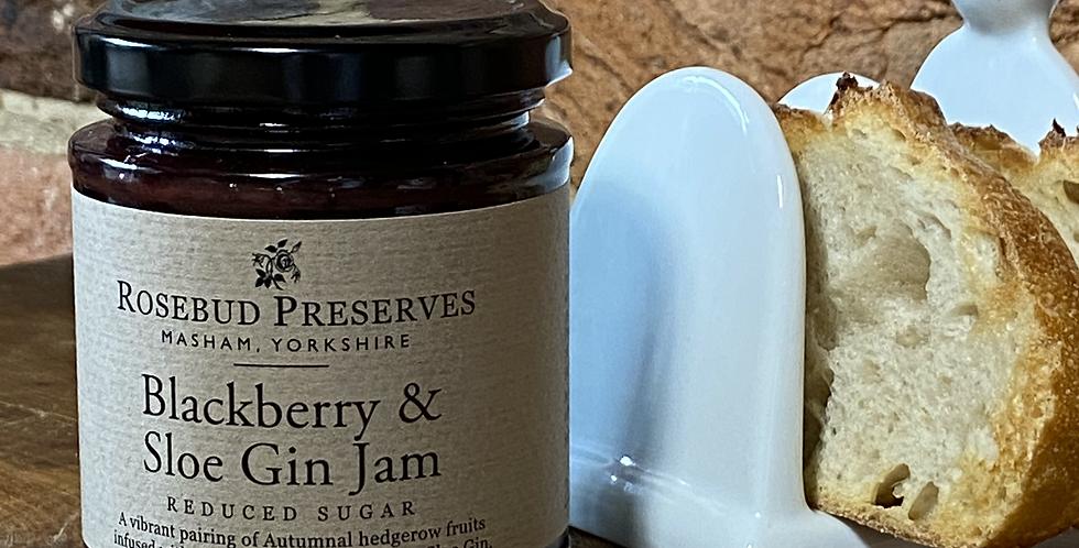 Blackberry & Sloe Gin Jam