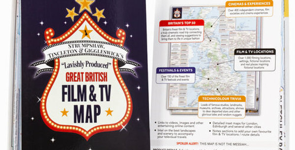Lavishly Produced Great British Film & TV Map