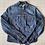 Thumbnail: Pepe Denim Jacket with Indian style mirrored embellishment