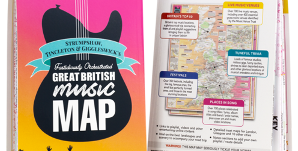 Fastidiously Orchestrated Great British Music Map