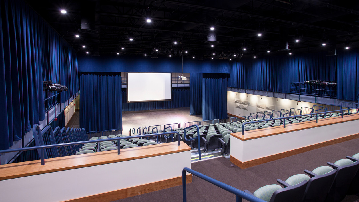 Parma Snow Black Box Theater