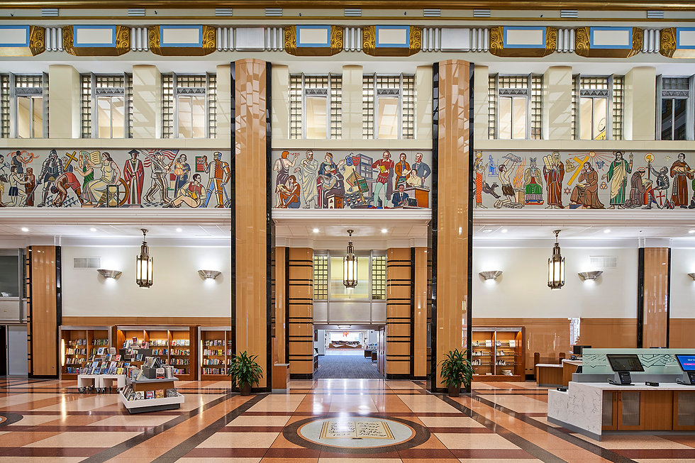 Restoration and Renovations of Toledo Lucas County's Main Library