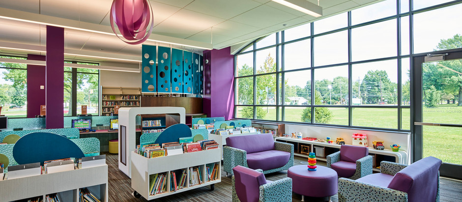 Children's Interactive Sensory Pods at CCPL Middleburg Heights Branch Library