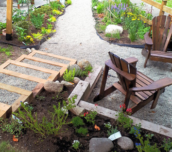 Garden Path and Stairs