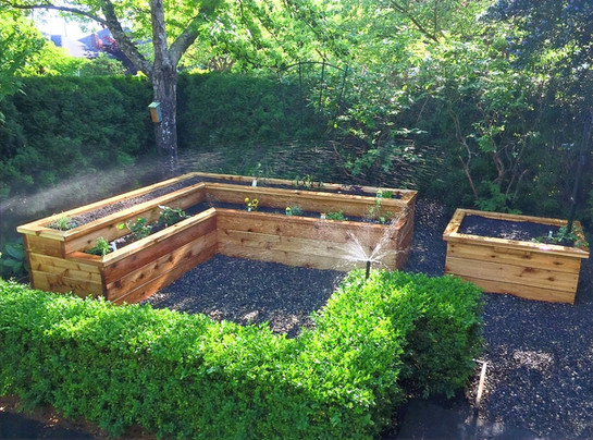 Built in Irrigation