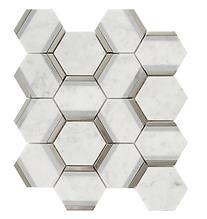 Hexagon Bardiglio Polished