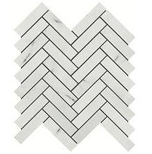 """Eastern White 1"""" x 4"""" Herringbone"""