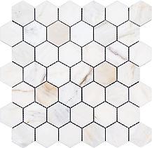 """Calacatta Gold Hexagon 2"""""""