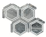 Bardiglio Georama Marble Mosaic